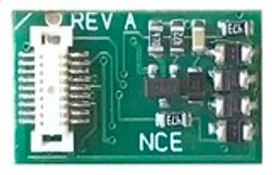 NCE DCC 5240178 Next18 N Decoder 4 Function direct plug in with 'NEM-662' socket