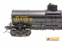 Tangent Scale Models HO 19021-01 General American 1917-design 8000 Gallon Radial Course Tank Car UTLX '1926+ Lease' UTLX #71046