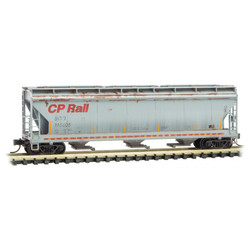 Micro Trains Line 993 05 690 Picnic Graffiti - 3 Bay Hopper CP Rail #115605 & 50' Box Car Soo Line #18752 - 2 Pack