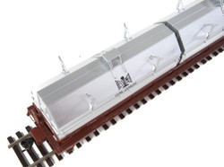 WalthersProto HO 920-105211 50' Evans Cushion Coil Car Bessemer and Lake Erie B&LE #6000