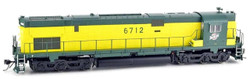 Bowser Executive Line HO 24729 DCC Ready ALCO C628 Diesel Locomotive Chicago and North Western 'Zito Yellow' CNW #6712