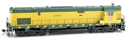 Bowser Executive Line HO 24739 DCC Ready ALCO C628 Diesel Locomotive Chicago and North Western 'Old Yellow' CNW #6702