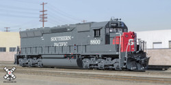 ScaleTrains Rivet Counter HO SXT32202 with DCC/ESU LokSound EMD SD45 Southern Pacific SP #8800