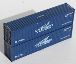 Jacksonville Terminal Company N 405014 40' High Cube  Container NYK Logistics 2-Pack