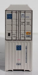 Jacksonville Terminal Company N 535039 53' High Cube Container UMAX patch ex NACS 2-Pack