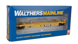 Walthers Mainline HO 910-5648 Thrall Rebuilt 40' Well Car  TTX 'Large Speed Logo' DTTX #747445