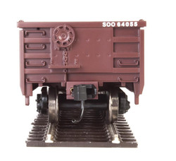 Walthers Mainline HO 910-6231 53' Railgon Gondola Soo Line SOO #64120
