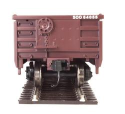 Walthers Mainline HO 910-6232 53' Railgon Gondola Soo Line SOO #64136
