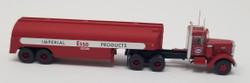 Trainworx N 55015 Vintage Fuel Tanker Peterbilt 350 Tractor Trailer Set - ESSO