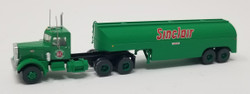 Trainworx N 55123 Vintage Fuel Tanker Peterbilt 351 Tractor Trailer Set - SINCLAIR