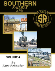 Morning Sun Books 1706 Southern Railway in Color Volume 4
