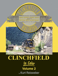 Morning Sun Books 1707 Clinchfield in Color Volume 2