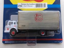 Athearn RTR HO ATH2764 Ford 'C' Box Van Kansas City Southern