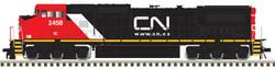 Atlas Master HO 10003134 Gold Series GE Dash 8-40CW Diesel DCC/ESU LokSound Canadian National 'CN.CA' scheme IC #2458