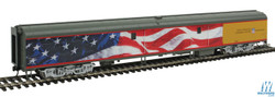 Walthers Proto HO 920-9205 85ft ACF Baggage Car Union Pacific Heritage Series American Flag Scheme #5769