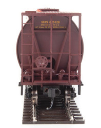 Walthers Mainline HO 910-7835 59' Cylindrical Hopper Saskatchewan Grain Car Corporation SKPX #625191