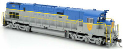 Bowser Executive Line HO 24712 DCC Ready ALCO C628 Diesel Locomotive Delaware and Hudson 'Large Shield' D&H #608