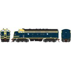 Athearn Genesis HO ATHG12317 DCC Ready F7A Santa Fe 'Cat Whiskers' ATSF #205L