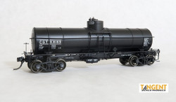 Tangent Scale Models HO 19015-03 General American 1917-design 8000 Gallon Non-Insulated Tank Car Canadian General Transit Company '1955+ Lease' CGTX #8152