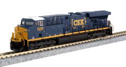 Kato N 176-8936 GE ES44DC CSX 'Boxcar' Logo CSX #5250
