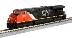 Kato N 176-8939 GE ES44AC Canadian National 'Website' Logo CN #2952
