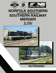 Morning Sun Books 1711 Norfolk Southern-Southern Railway Merger In Color