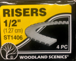 Woodland Scenics ST1406 Risers - 1/2 inch