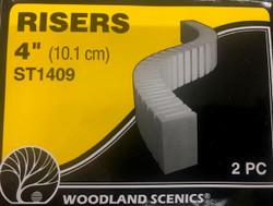 Woodland Scenics ST1409 Risers - 4 inch
