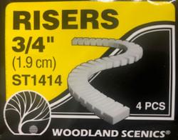 Woodland Scenics ST14414B Risers Bulk Pack - 3/4 inch