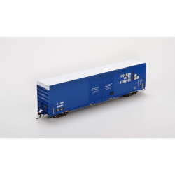 Athearn HO ATH87179 60' FMC Double Door Hi-Cube Box Car SSW 'Ex Golden West Patch' SSW #62688