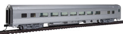 Walthers Mainline HO 910-30000 85' Budd Large-Window Coach - Ready to Run - Painted Silver Unlettered