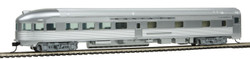 Walthers Mainline HO 910-30352 85' Budd Observation Ready to Run Santa Fe