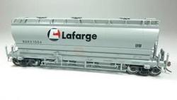 Rapido Trains Inc HO 133011-3 ACF 3500 Cu Ft 'Flexi Flo' Covered Hopper Lafarge NAHX #1008