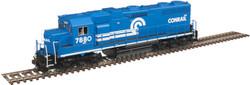 Atlas Master HO 10003210 Silver Series EMD GP38 Diesel DCC Ready Conrail 'White Frame Stripe' CR #7883