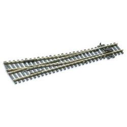 Peco Streamline HO SL-U8361 Code 83 No 6 Unifrog Turnout Nickel Silver - Right Hand