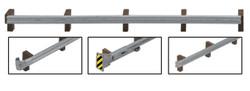 Walthers SceneMaster 949-4176 Roadway Guardrails - Kit