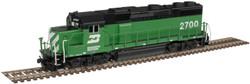 Atlas Master N 40004797 Gold Series EMD GP39-2 Phase 2 DCC/ESU LokSound Burlington Northern BN #2705