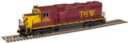 Atlas Master N 40004805 Gold Series EMD GP39-2 Phase 2 DCC/ESU LokSound Twin Cities & Western - TC&W #2301