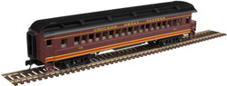 Atlas Trainman N 50005122 ACF 60' Passenger Car - Chicago Great Western CGW - Observation #100