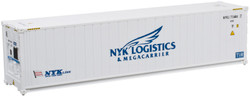 Atlas N 50005355 40' Hi-Cube Refrigerated Intermodal Container NYK Line Set #1