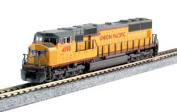 Kato N 176-7608 DCC Ready EMD SD70M 'Flat Radiator' Union Pacific UP #4198