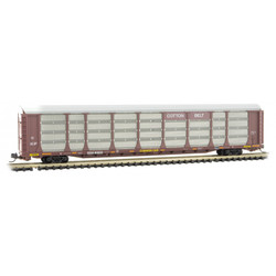 Micro Trains Line 111 00 390 89' Tri Level Closed Auto Rack Cotton Belt SSW #80638