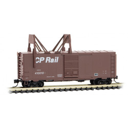 Micro Trains Line 073 00 270 40' Standard Single Door Boxcar with Ice Breaker Canadian Pacific - CP Rail CP #410010
