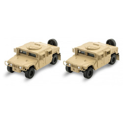 Micro Trains Line 499 45 951 Humvee Vehicle - 2 Pack - Tan