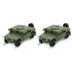 Micro Trains Line 499 45 952 Humvee Vehicle - 2 Pack - Olive Drab