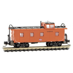 Micro Trains 100 00 480 36' Riveted Steel Caboose with Offset Cupola Milwaukee Road MILW #01603