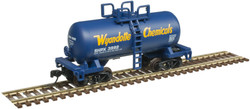 Atlas Trainman N 50005012 Beer Can Shorty 28' Tank Car Wyandotte Chemical SHPX #3992