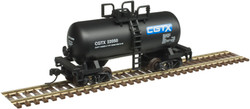 Atlas Trainman N 50005014 Beer Can Shorty 28' Tank Car Canadian General CGTX #22050