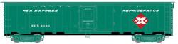 Atlas Master HO 20005359 REA Steel Express Reefer Santa Fe - REX #4053