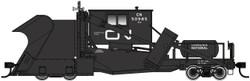 WalthersProto HO 920-110117 Jordan Spreader Canadian National Black with White Noodle Logo CN #50985